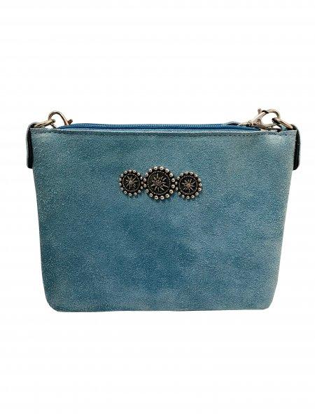 Trachtentasche blau
